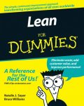 Lean For Dummies, Bruce Williams, Natalie Sayer