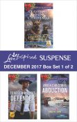 Harlequin Love Inspired Suspense December 2017 – Box Set 1 of 2, Elizabeth Goddard, Harlequin, Dana R. Lynn