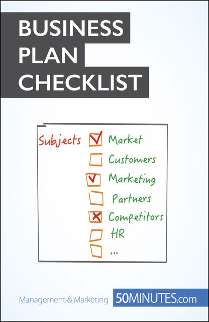 Business Plan Checklist, Antoine Delers