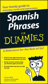 Spanish Phrases For Dummies, Susana Wald