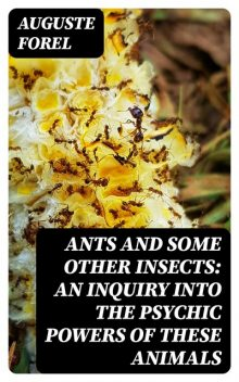 Ants and Some Other Insects: An Inquiry Into the Psychic Powers of These Animals, Auguste Forel