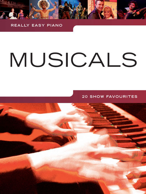 Really Easy Piano: Musicals, Wise Publications