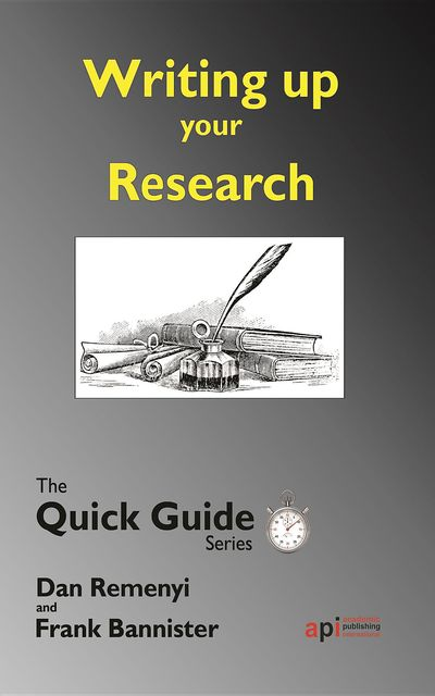 Writing up your Research, Dan Remenyi, Frank Bannister