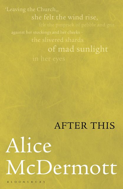 After This, Alice McDermott