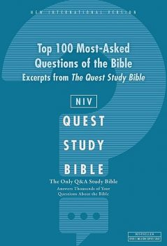 NIV, Top 100 Q and A of the Bible: A Zondervan Bible Extract, eBook, Zondervan
