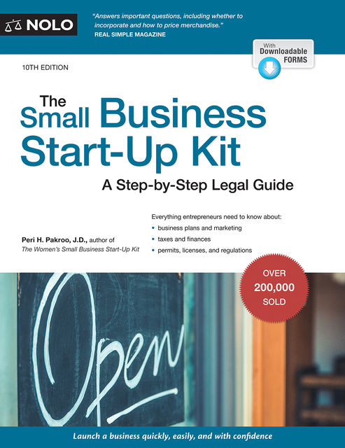 Small Business Start-Up Kit for California, The, Peri Pakroo