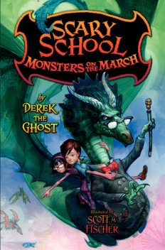 Scary School #2: Monsters on the March, Derek the Ghost
