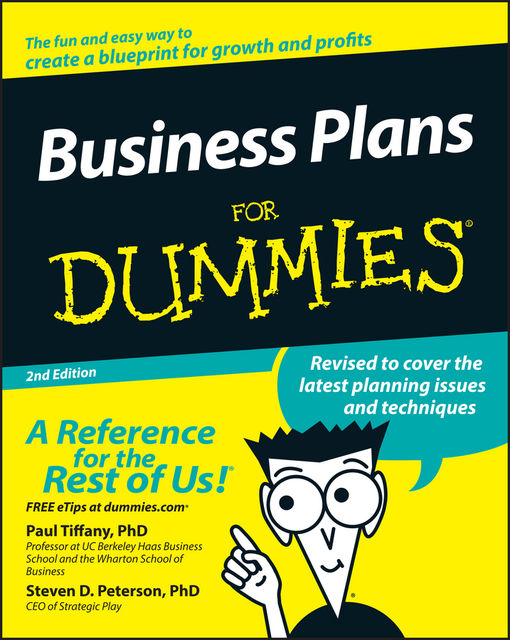 Business Plans For Dummies, 2nd Edition, Paul Tiffany