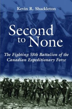 Second to None, Kevin R.Shackleton