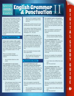 English Grammar & Punctuation II, Speedy Publishing