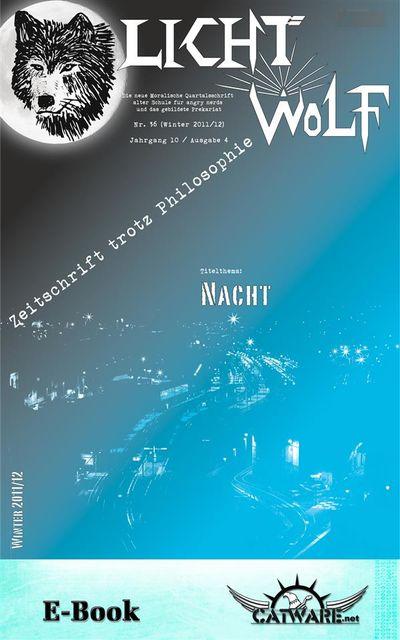 Lichtwolf Nr. 36 («Nacht»), Michael Helming, Der Bdolf, Jürgen Nielsen, Marc Hieronimus, Sikora, Stefan Schulze Beiering, Johannes Witek, Crauss., Ni Gudix, Stefan Rode