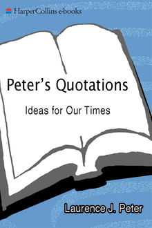 Peter's Quotations, Laurence J.Peter