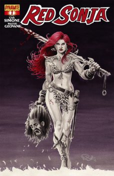 Red Sonja: Queen of Plagues #1, Gail Simone, Walter Geovani
