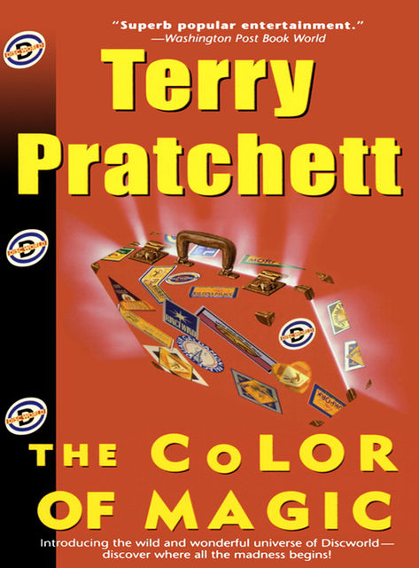 The Colour of Magic, Terry David John Pratchett