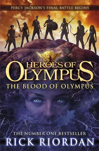 The Blood of Olympus, Rick Riordan