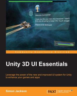 Unity 3D UI Essentials, Simon Jackson