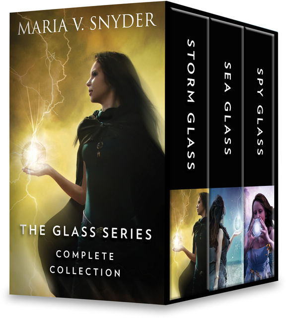 The Glass Series Complete Collection, Maria Snyder
