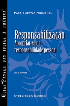 Accountability: Taking Ownership of Your Responsibility (Portuguese for Europe), Henry Browning