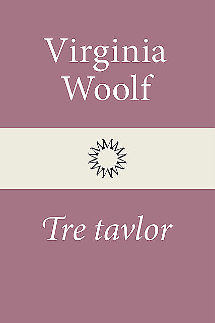Tre tavlor, Virginia Woolf