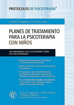 Planes de tratamiento para la psicoterapia con niños, L.Mark Peterson, William P.McInnis, Timothy J.Bruce, Arthur E. Jongsma Jr.