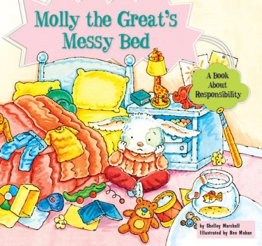 Molly the Great's Messy Bed, Shelley Marshall