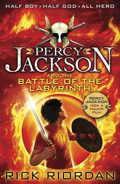 Percy Jackson 4 – The Battle of the Labyrinth, Rick Riordan