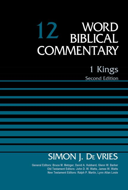 1 Kings, Volume 12, Simon DeVries