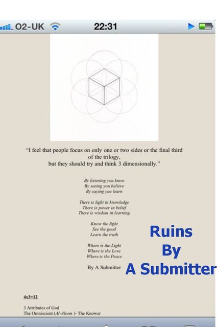 Ruins, A Submitter
