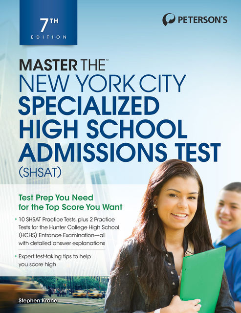 Master the New York City Specialized High School Admissions Test, Peterson's
