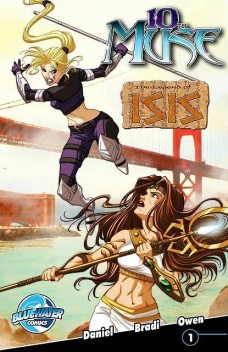 10th Muse: The Legend of Isis #1, Kenton Daniels