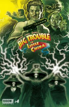 Big Trouble in Little China #4, Eric Powell