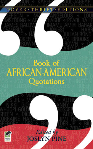 Book of African-American Quotations, Joslyn Pine
