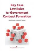 Key Case Law Rules for Government Contract Formation, Patrick Butler
