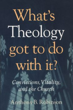 What's Theology Got to Do With It, Anthony Robinson