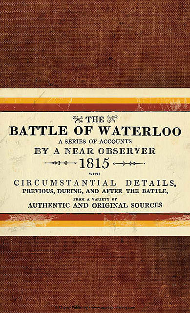 The Battle of Waterloo, Bloomsbury Publishing