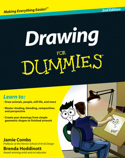 Drawing For Dummies, Jamie Combs, Brenda Hoddinott