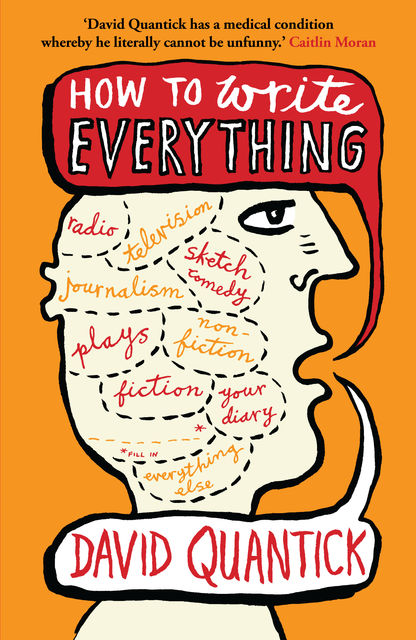 How to Write Everything, David Quantick, Steven Appleby