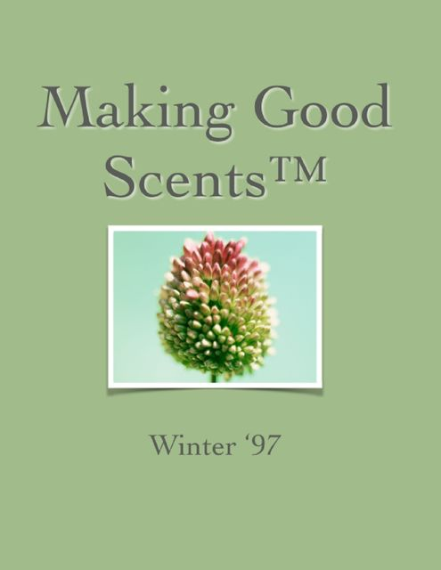 Making Good Scents™ – Winter 97, Ololade Franklin
