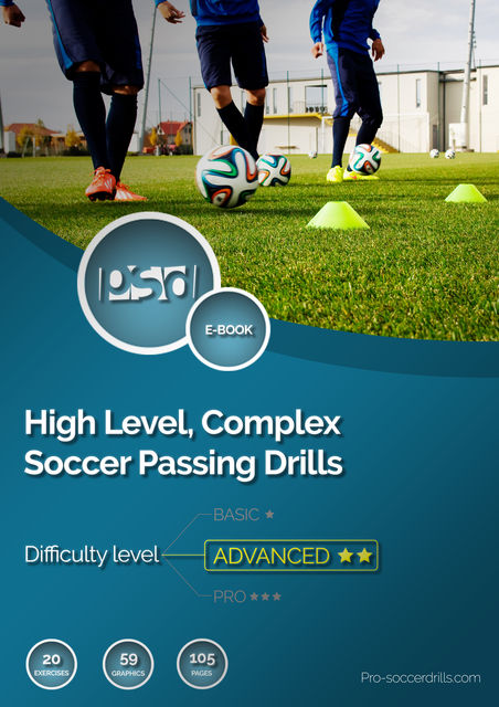 High Level, Complex Soccer Passing Drills, Pro-soccerdrills. com