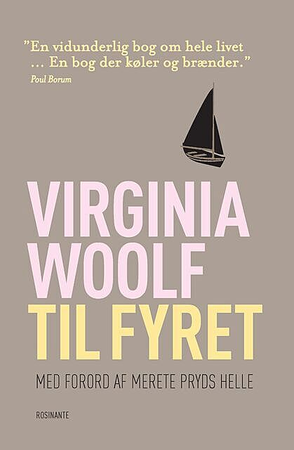 Til fyret, Virginia Woolf