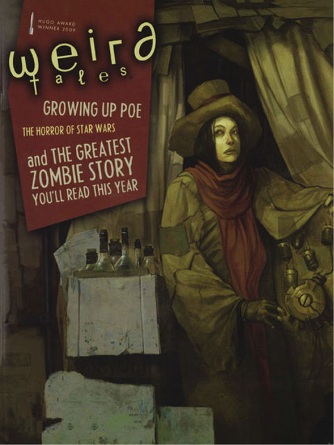 Weird Tales #354 (Special Edgar Allan Poe Issue), Joe Schreiber, Kenneth Hite, Nick Mamatas, Simon King