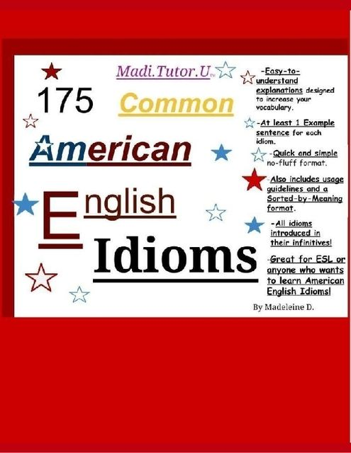 175 Common American English Idioms, Madeleine Doan