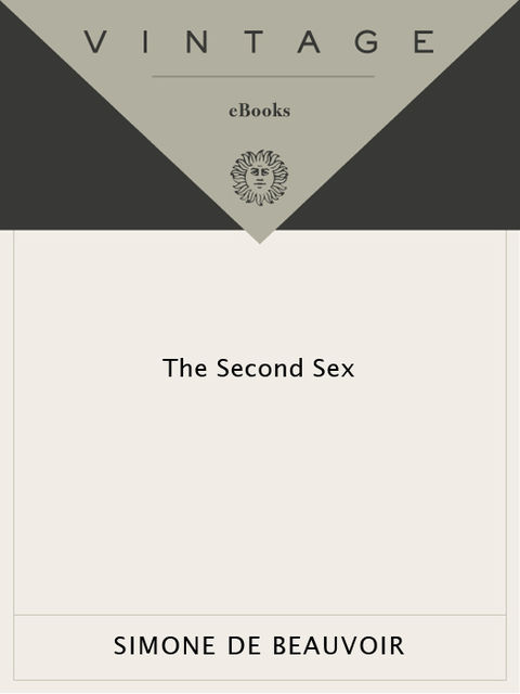 The Second Sex, Simone de Beauvoir