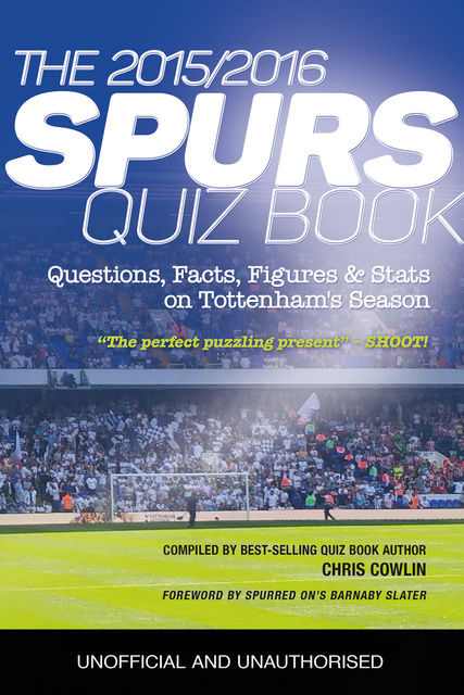 The 2015/2016 Spurs Quiz and Fact Book, Chris Cowlin