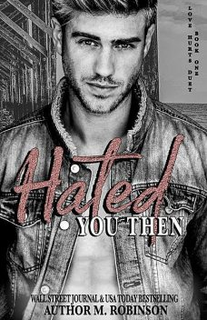 Hated You Then (Book One: Love Hurts Duet), Robinson
