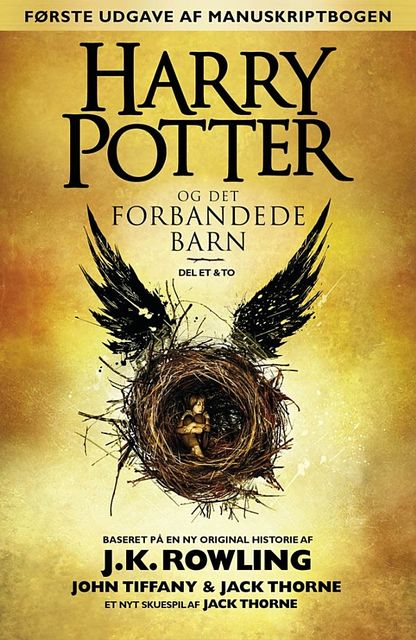 Harry Potter og det forbandede barn, J. K. Rowling
