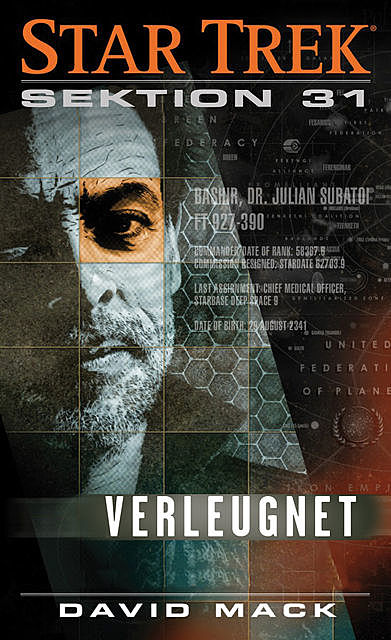 Star Trek: Sektion 31: Verleugnet, David Mack