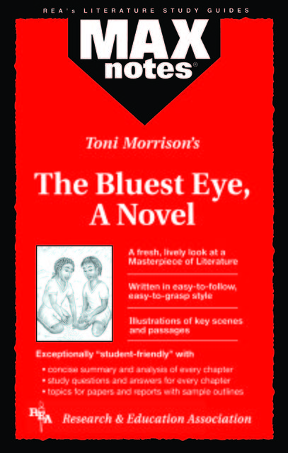 Bluest Eye, The, A Novel (MAXNotes Literature Guides), Christopher Hubert