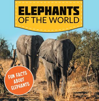 Elephants of the World: Fun Facts About Elephants, Baby Professor