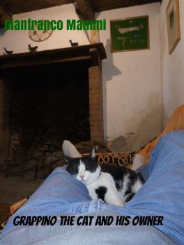 Grappino the Cat and his Owner, Gianfranco Mammi